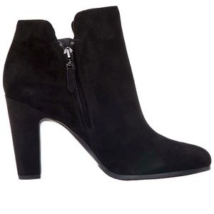Sam Edelman Shelby Black Suede Ankle Boot Bootie